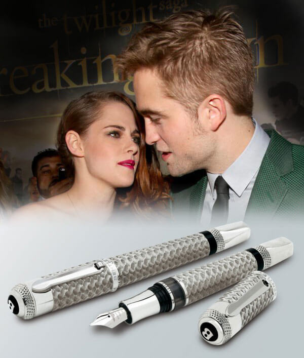 Twilight Actor Robert Pattinson Buys £20,000 Bentley Pen for Girlfriend