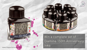 Diamine 150th Anniversary ink set