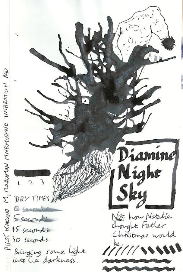 Diamine Night Sky