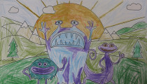 Holly Stones – Age 7 – Colouring Competition Entry