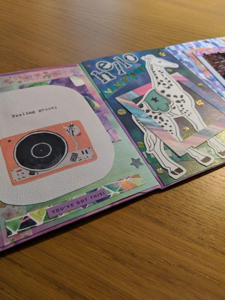 Snail mail flip book