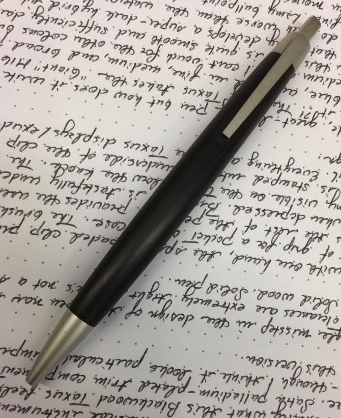 Stunning simplicity: Lamy 2000 Taxus ballpoint pen review
