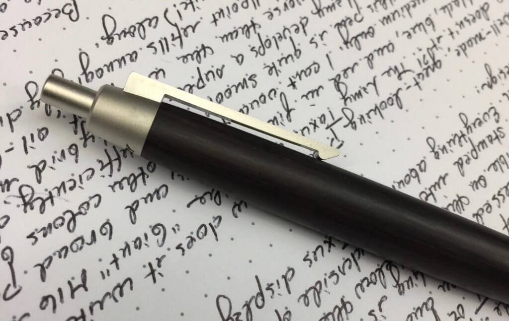 Lamy 2000 Taxus ballpoint bring-loaded clip