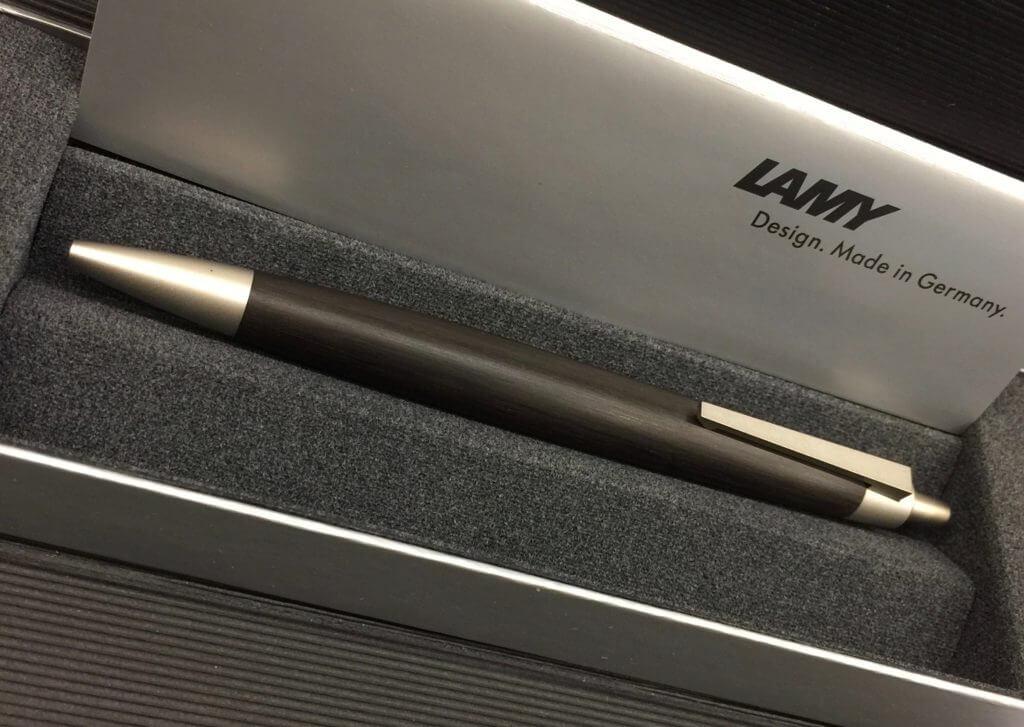 Lamy 200 Taxus Ballpoint Pen (Blackwood)