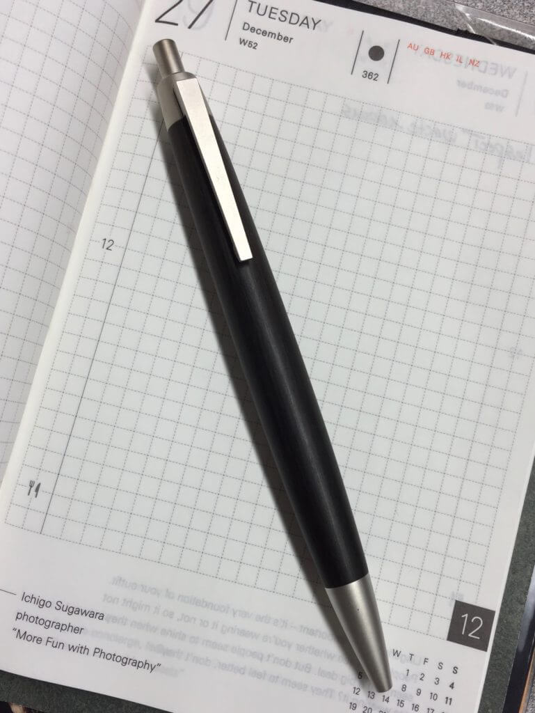 Lamy 200 Taxus Blackwood