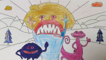 James Cobe – Age 7 – Colouring Competition Entry