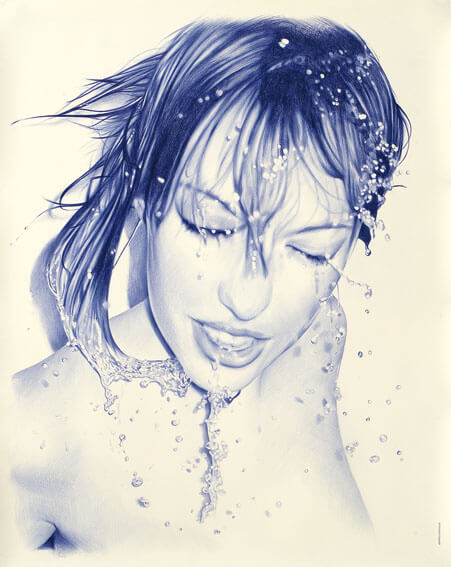 Juan-Francisco-Casas-Ballpoint-Pen-Art
