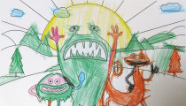 Kaiya McCathy – Age 4 – Colouring Competition Entry