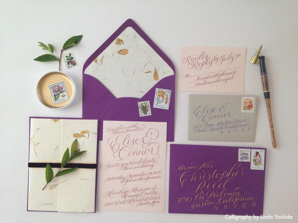 Linda-Yoshida-calligraphy-calligrapher-invitation