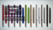 National Stationery Week Space Pen Giveaway