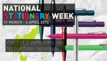 Win a Faber-Castell or Sheaffer Pen every day of National Stationery Week 2014