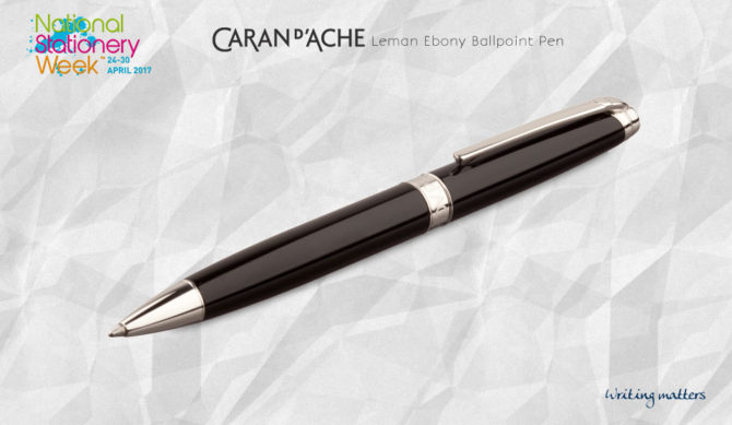 Win a Luxurious Caran d'Ache Leman Ballpoint Pen!
