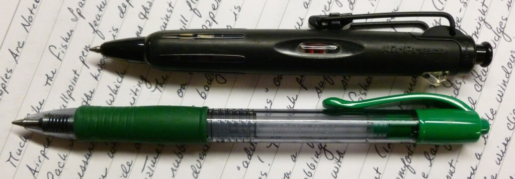 Tombow Airpress vs. Pilot G2