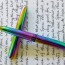 Rainbow Fisher Space Pen Bullet Ballpoint Review