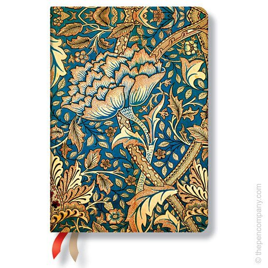 The midi Paperblanks William Morris Windrush 2016 diary