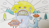Phoebe Redfern – Age 7 – Colouring Competition Entry