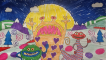 Joanna Ford – Age 11 – Colouring Competition Entry