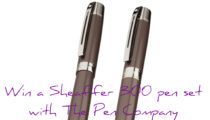 Win a Sheaffer 300 pen set with The Pen Company!