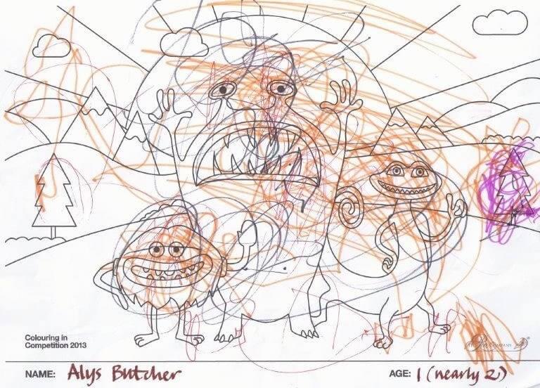 Alys Butcher - Age 1