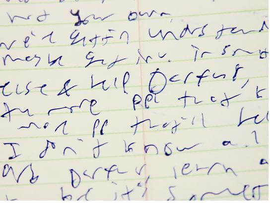 Why Handwriting is Important: Even for Adults