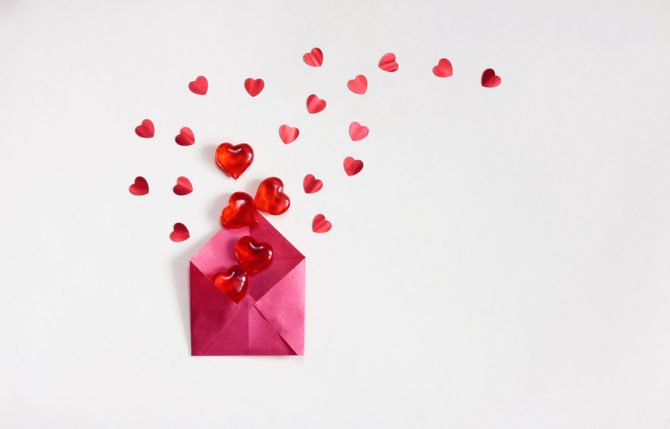 Could you write a love letter to a stranger?