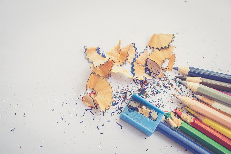 Pencil shavings