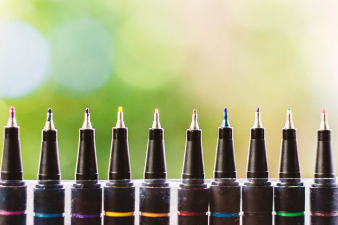 A brief guide to fineliner pens