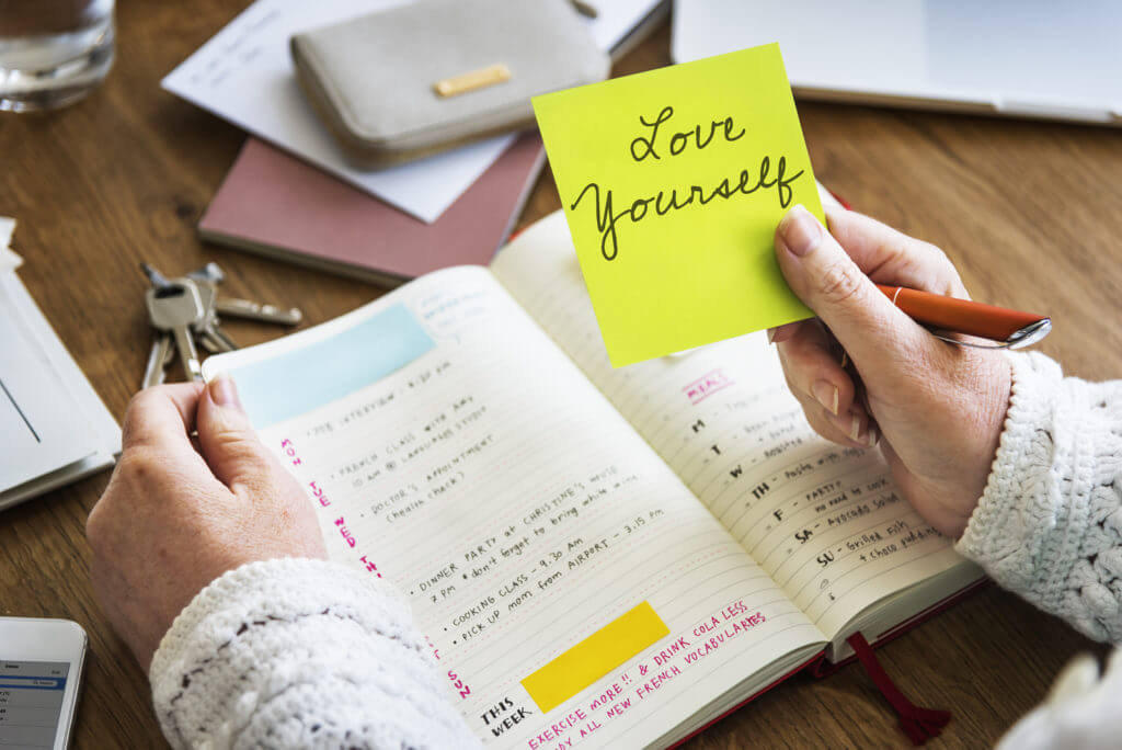 write a love letter to yourself