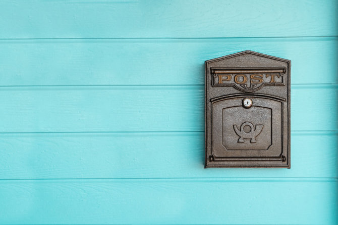 Times it's better to send snail mail instead of email