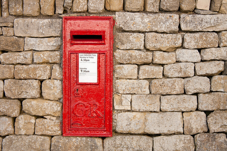 Postbox for snail mail