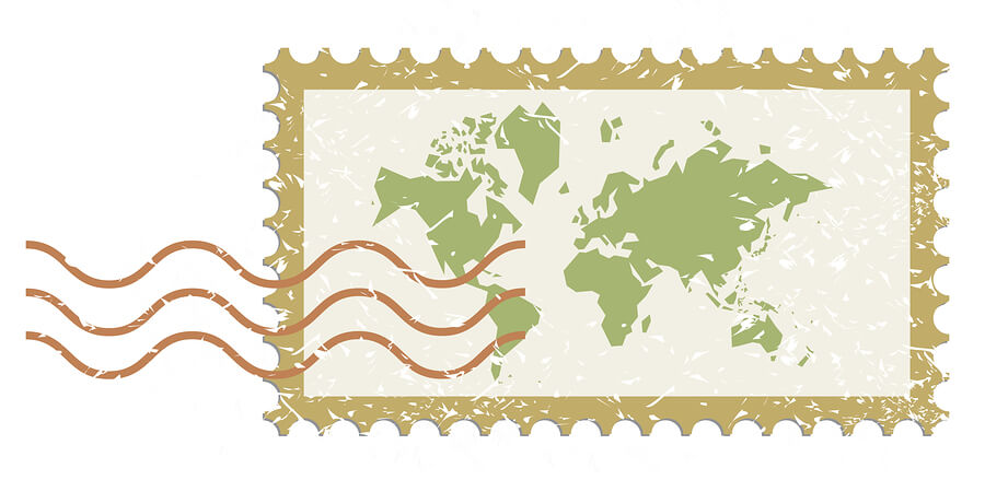 world stamp