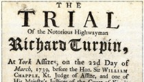 Handwriting in History: Dick Turpin