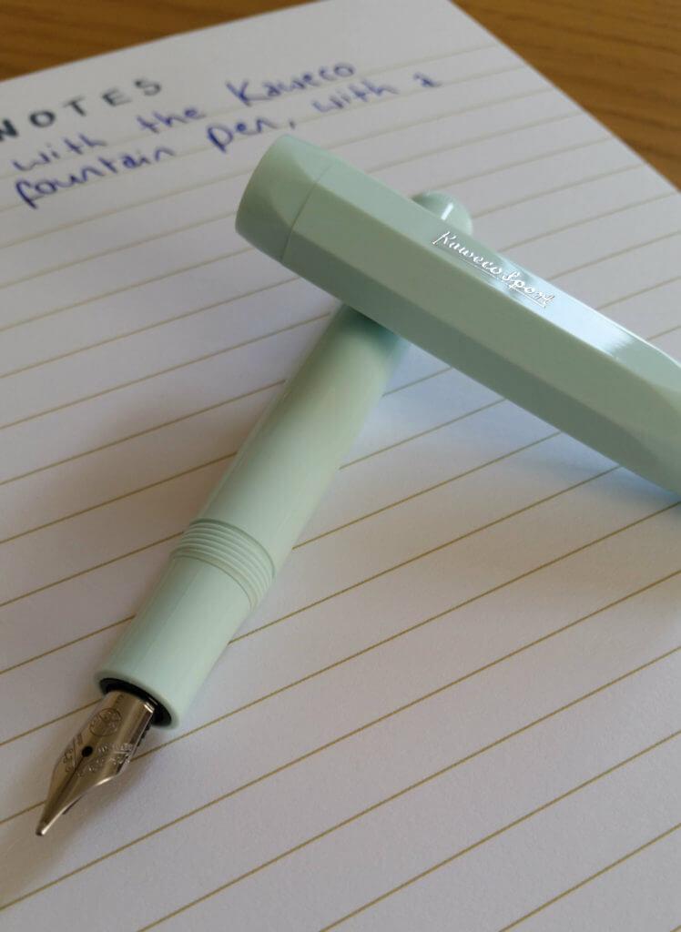The Kaweco Skyline Sport fountain pen