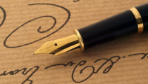 How to use a fountain pen for calligraphy