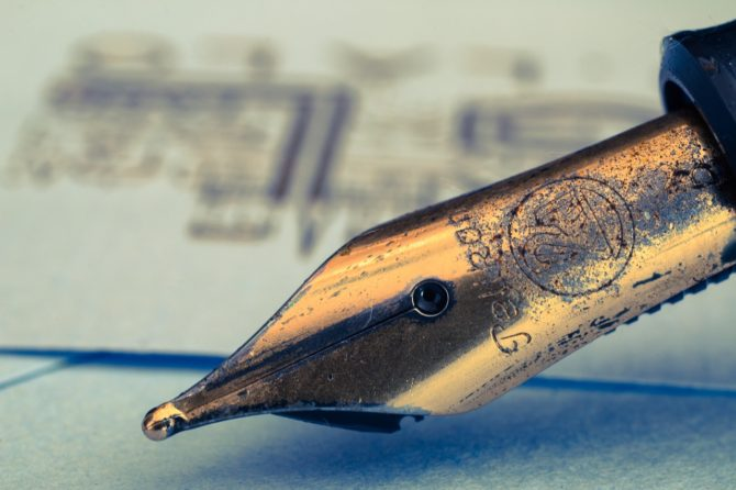 Getting the right ink for your fountain pen