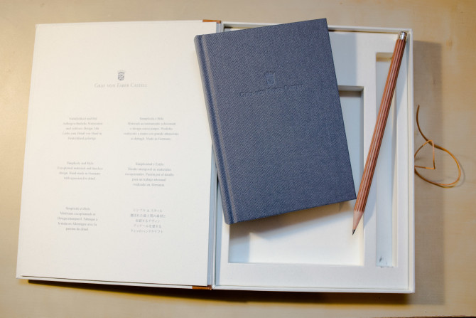 Graf von Faber-Castell journal and pencil set review