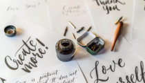 Four hand lettering types for beginners