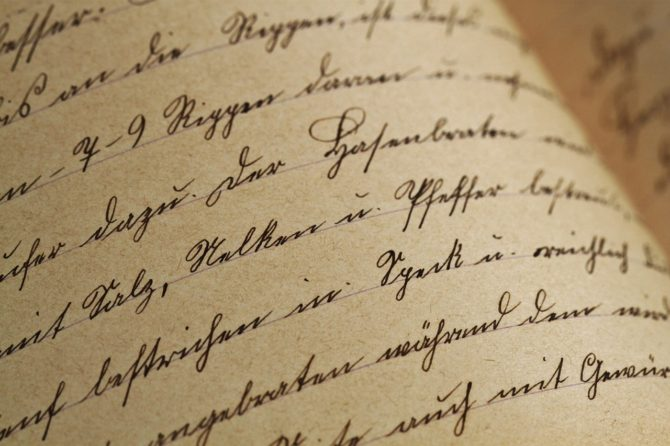 Travel company releases handwriting survey on National Handwriting Day