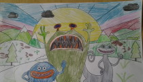 Isabelle Kingwell – Age 9 – Colouring-in Competition Entry