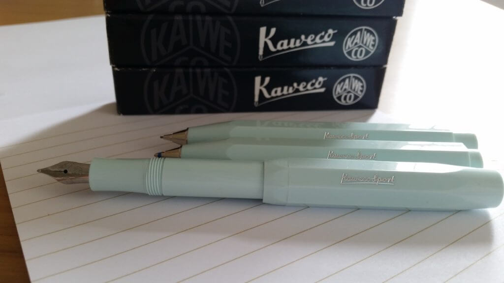 Kaweco pens and pencil