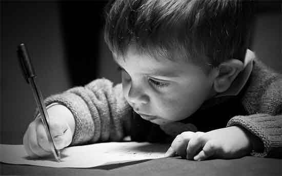 Getting to know your child's handwriting