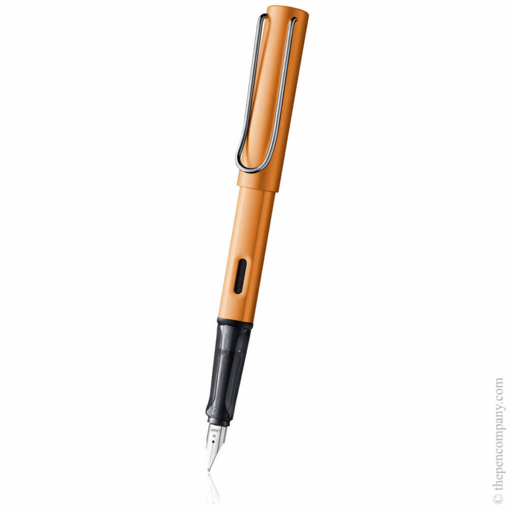 Lamy AL-Star fountain pen in bronze