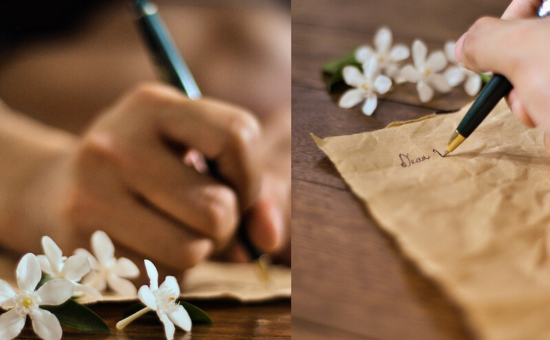 Letter writing. Photo by dreams & pancakes (Flickr).