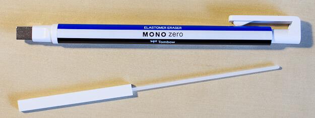Mono Zero eraser removed