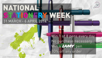 National Stationery Week – Discounts and Giveaways