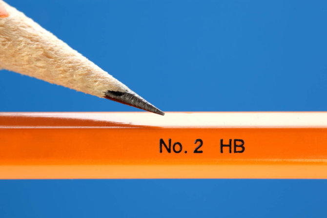 A guide to pencil lead grades