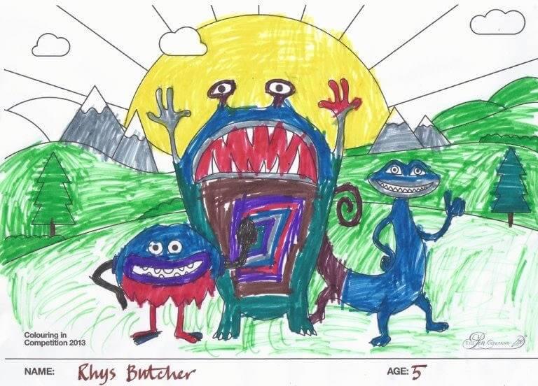 Rhys Butcher - Age 5