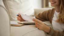 Handwritten letters for those living with cancer