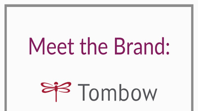 Meet the brand title for blog post: Tombow